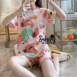 Pijama Conejito Short y...